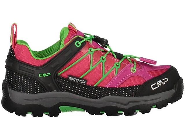CMP Campagnolo Kids Rigel Low WP Trekking Shoes Ibisco